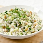 Creamy Herb and Cucumber Salad