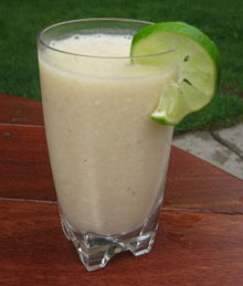 Lime-Coconut Smoothie