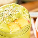 Mango Peach Green Tea Smoothie