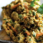Curried Nada-Egg with Watercress Wraps